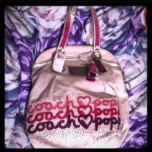 Brand new coach poppy handbag